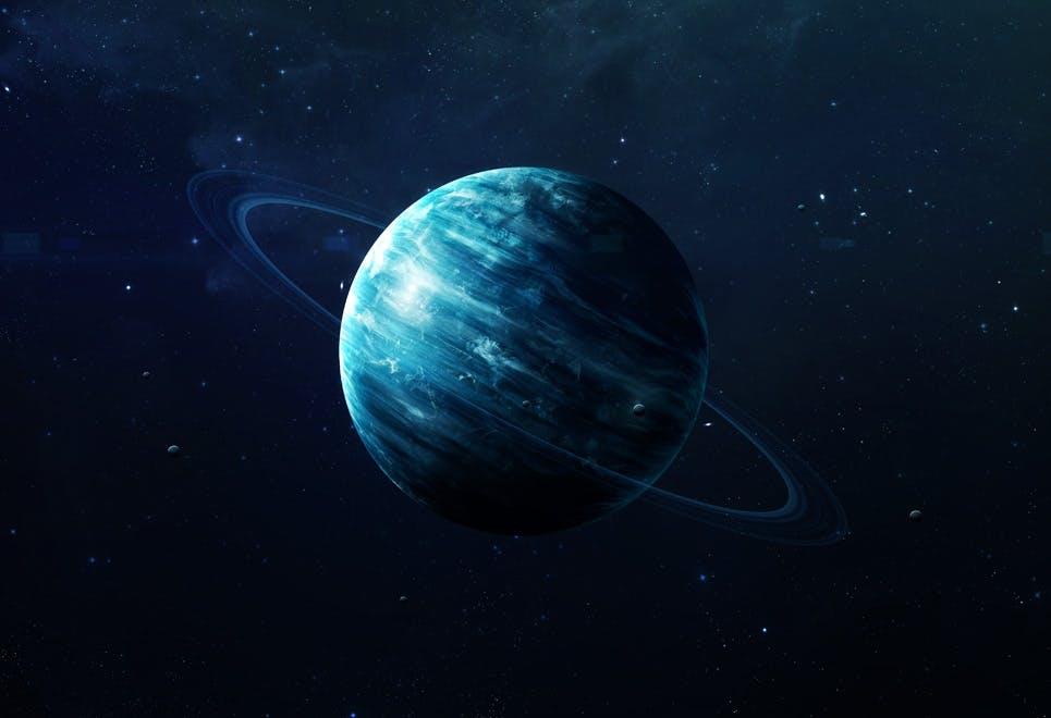Uranus ringe