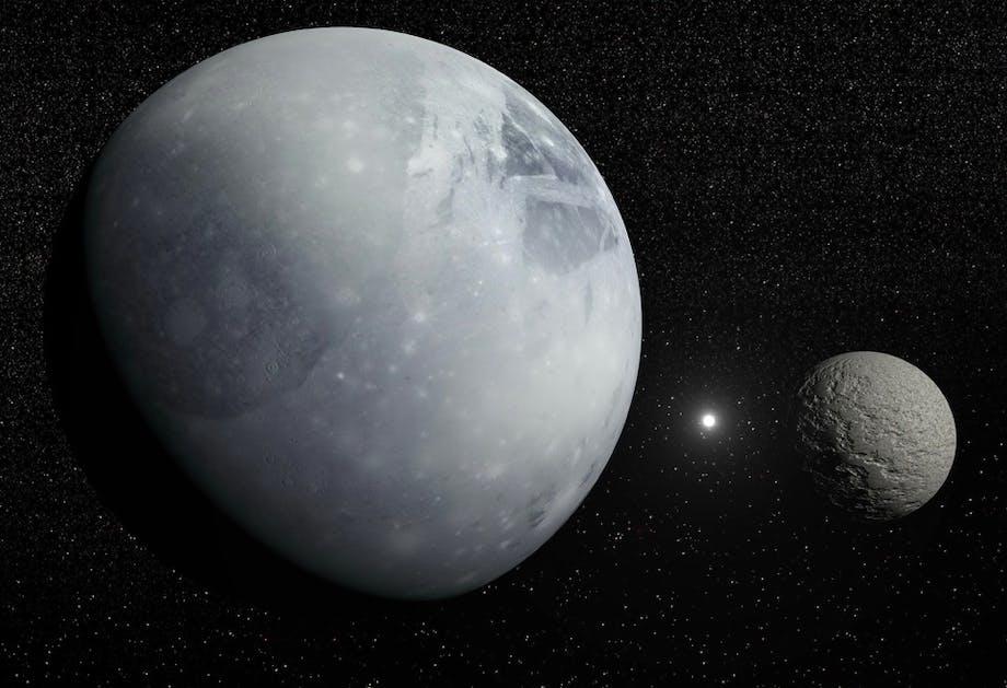 De manen van Pluto