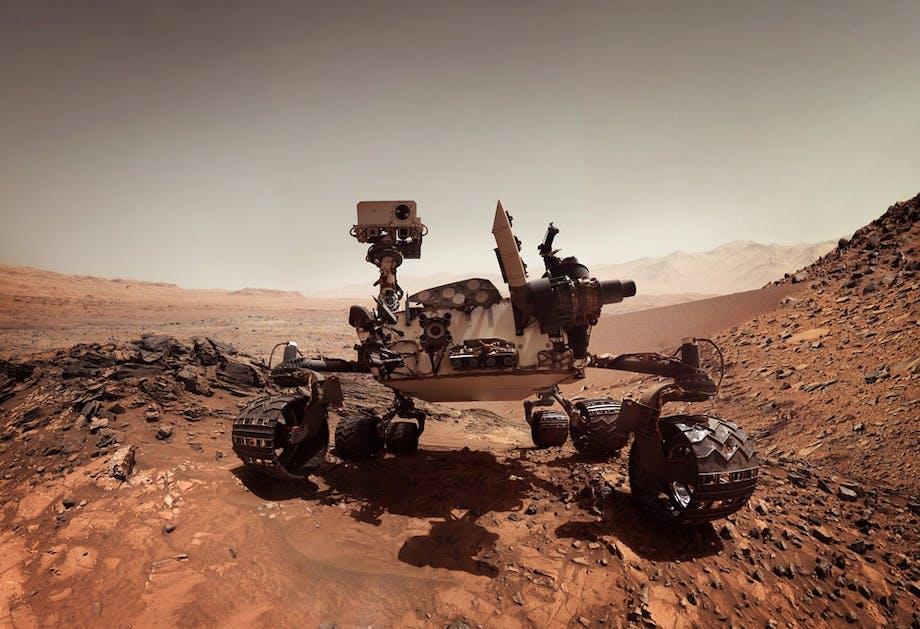 Liv på Mars