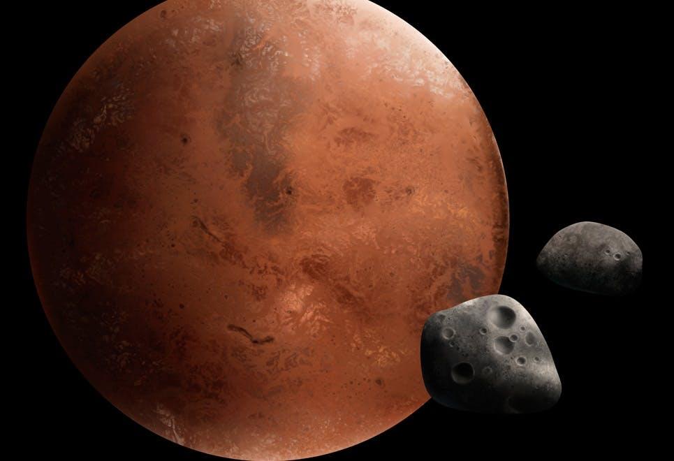 Mars månar