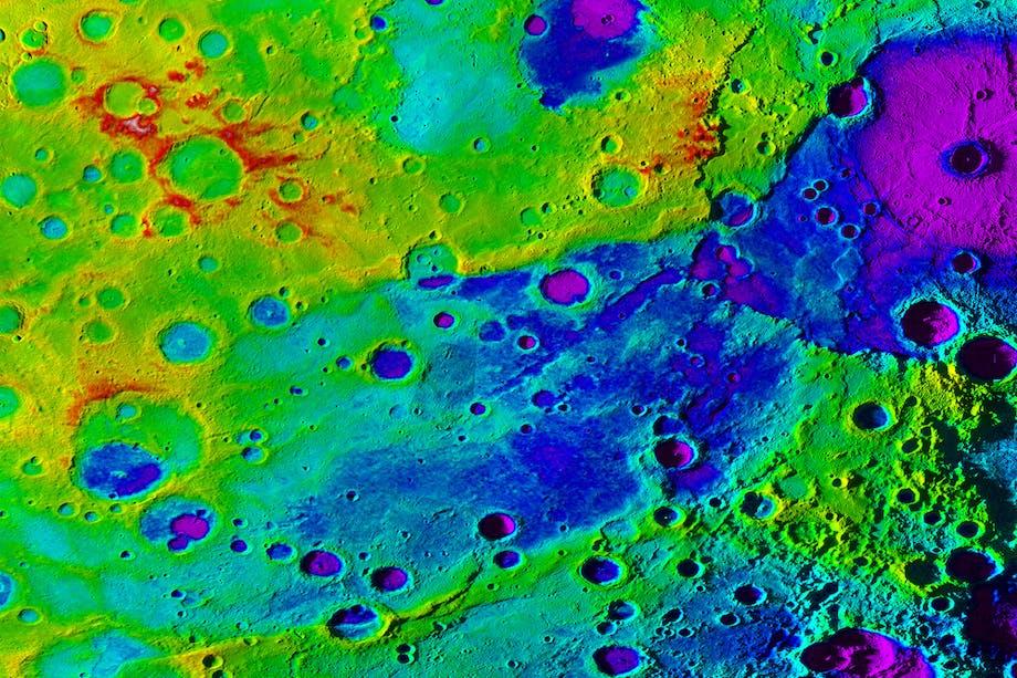 Merkur opbygning