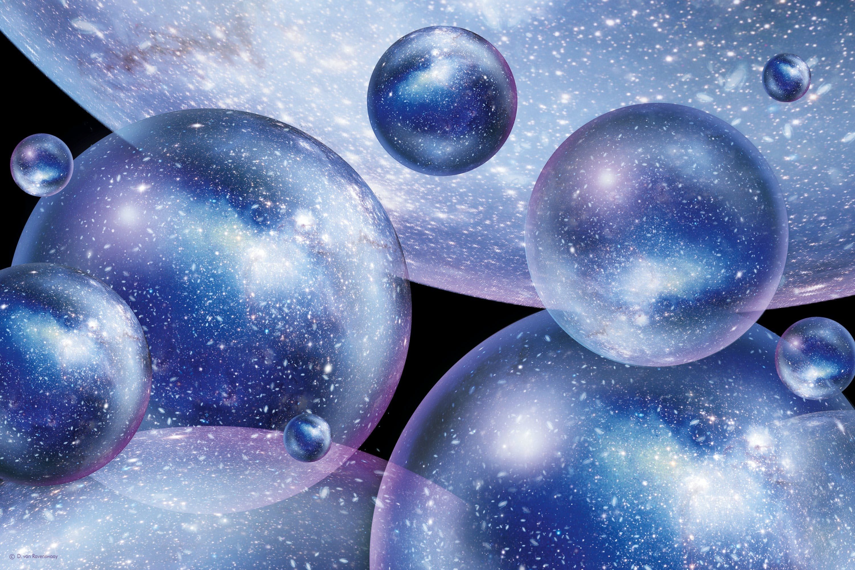 Theory Bubble Universe