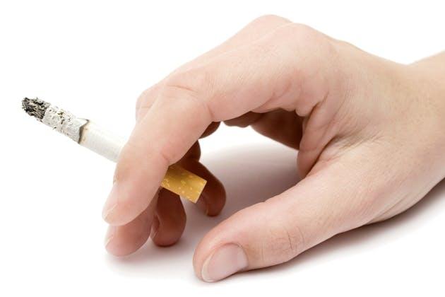 Cigarette in Hand
