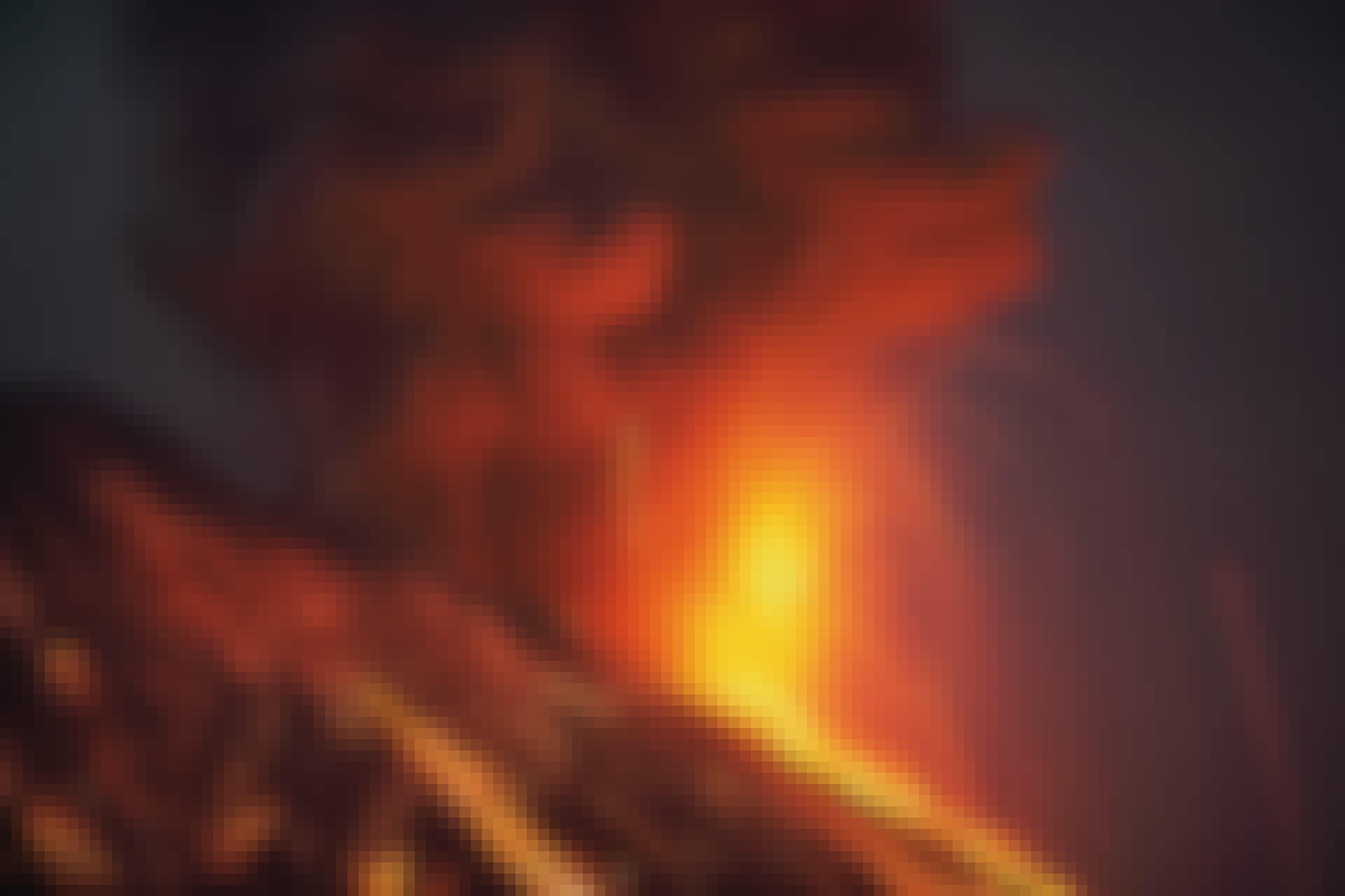 Volcano Eruption Lava