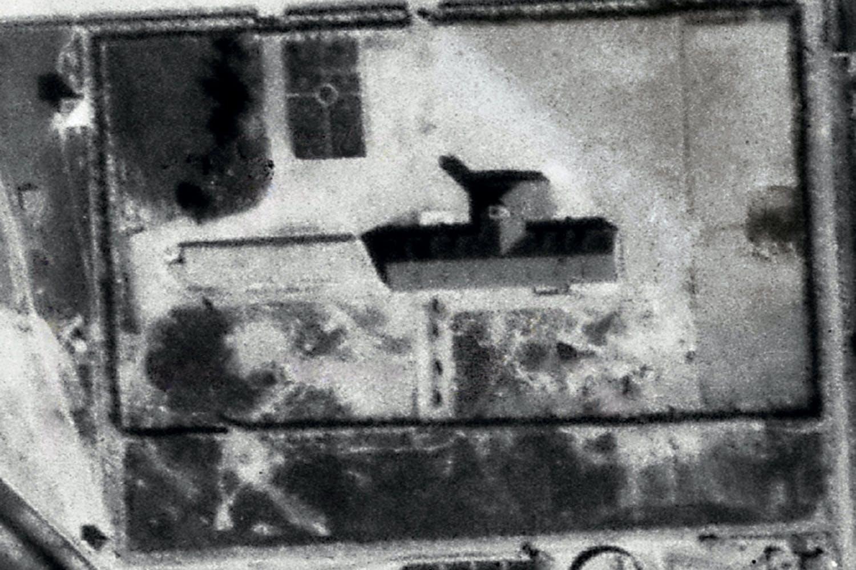 Auschwitz seen from above