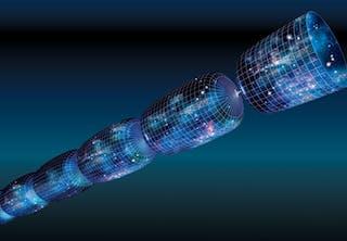 Big bang theory illustration