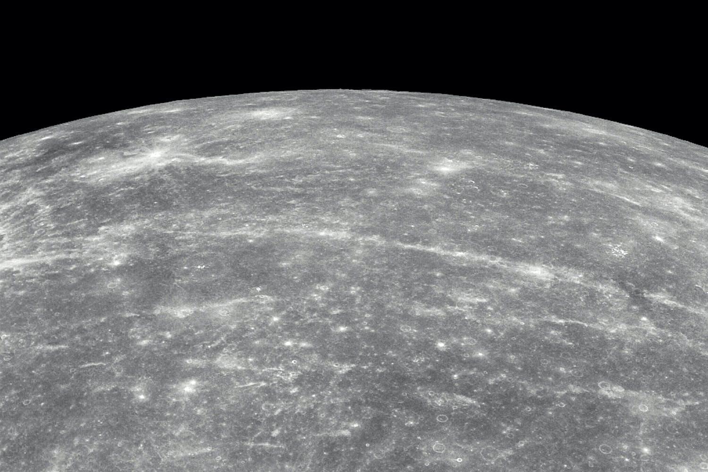 Mercury seen from Messenger