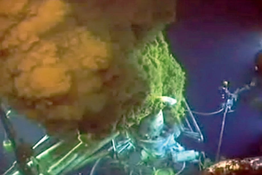 deepwater horizon leak
