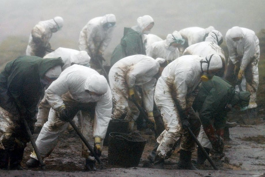 cleaning up after Prestige