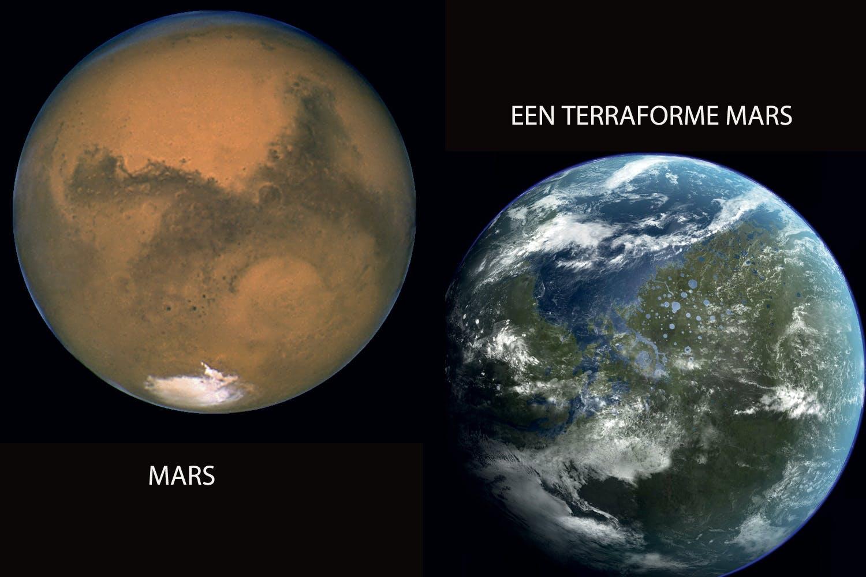 Mars as earth