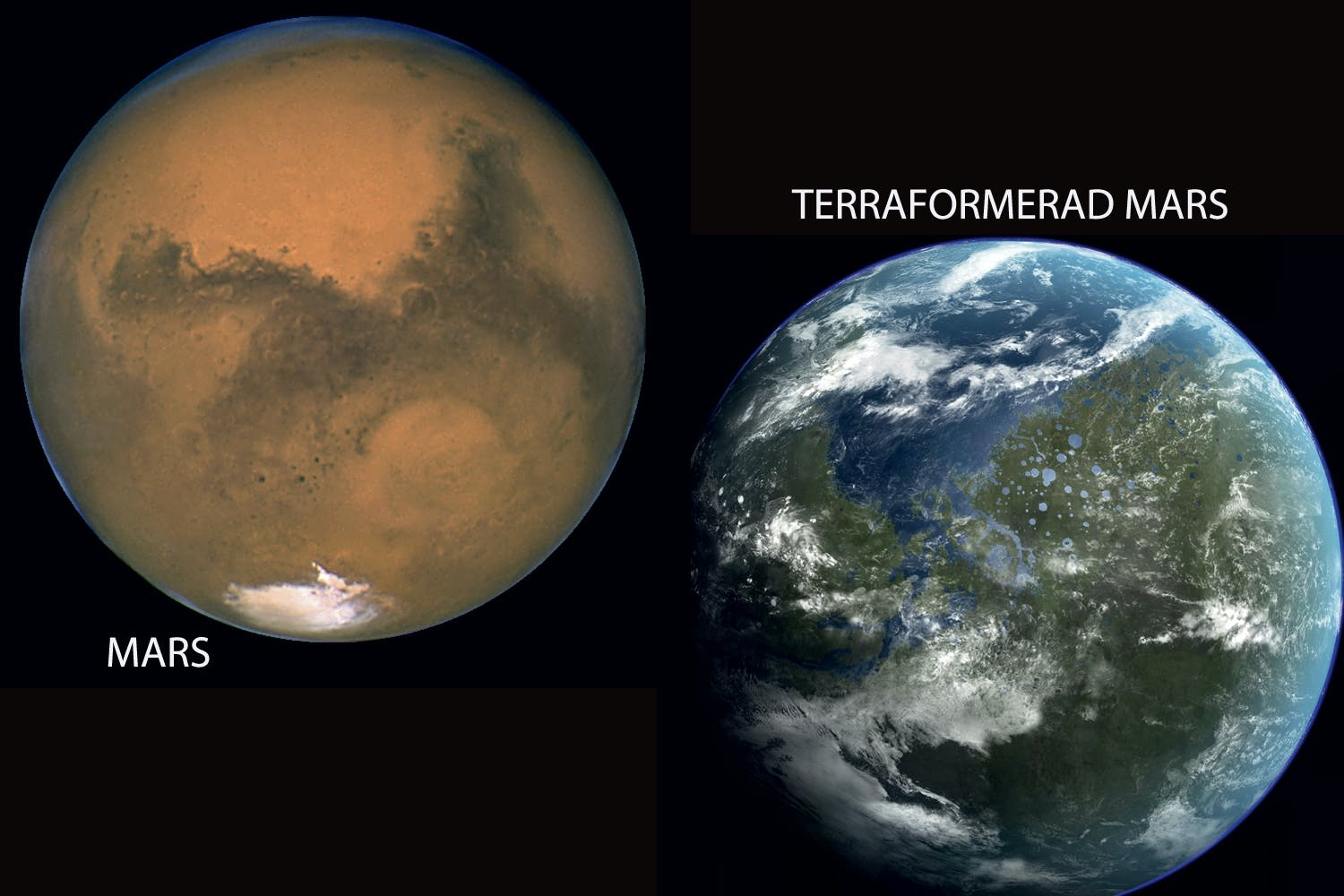 Mars as earth