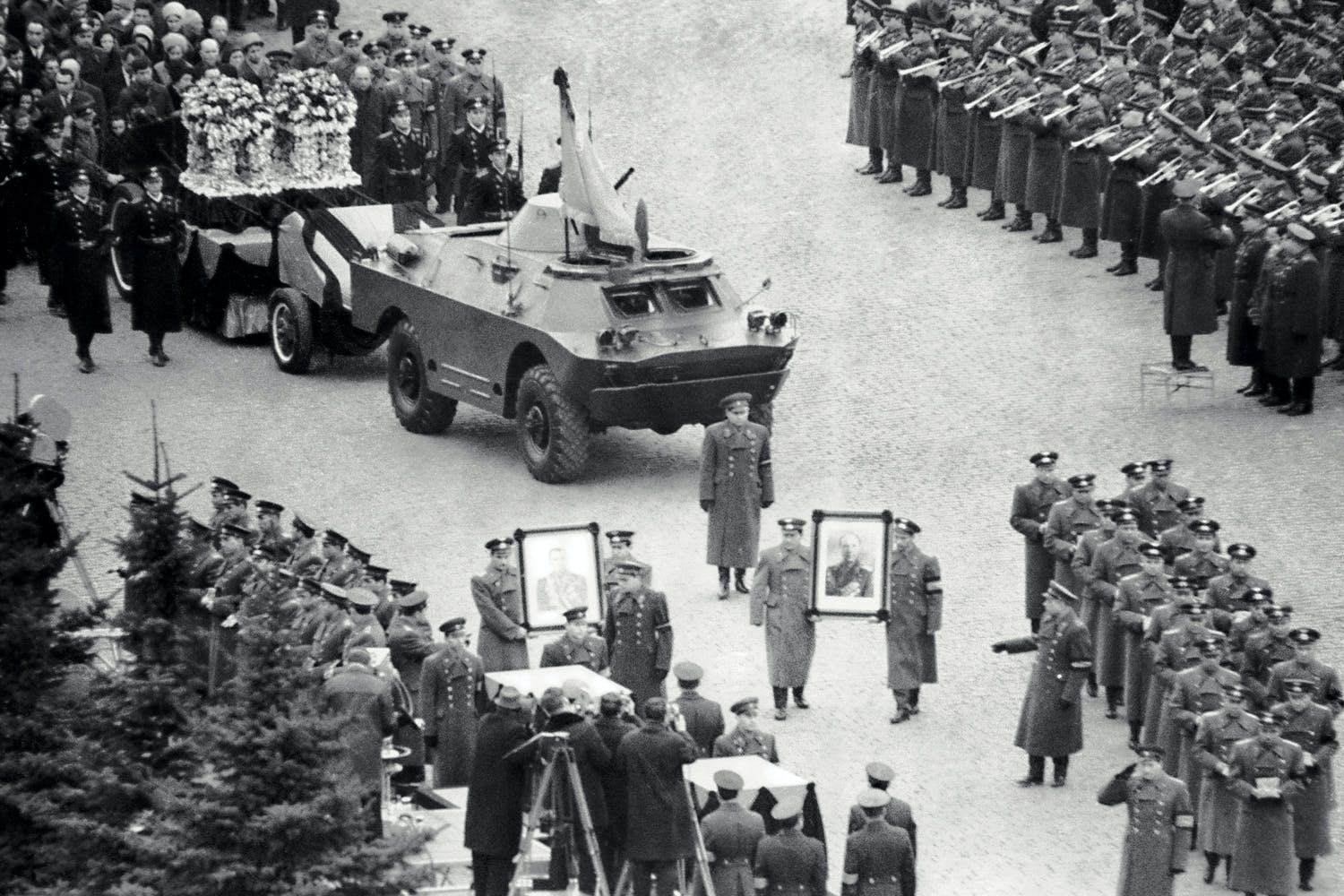 Funeral of Jurij Gargarin