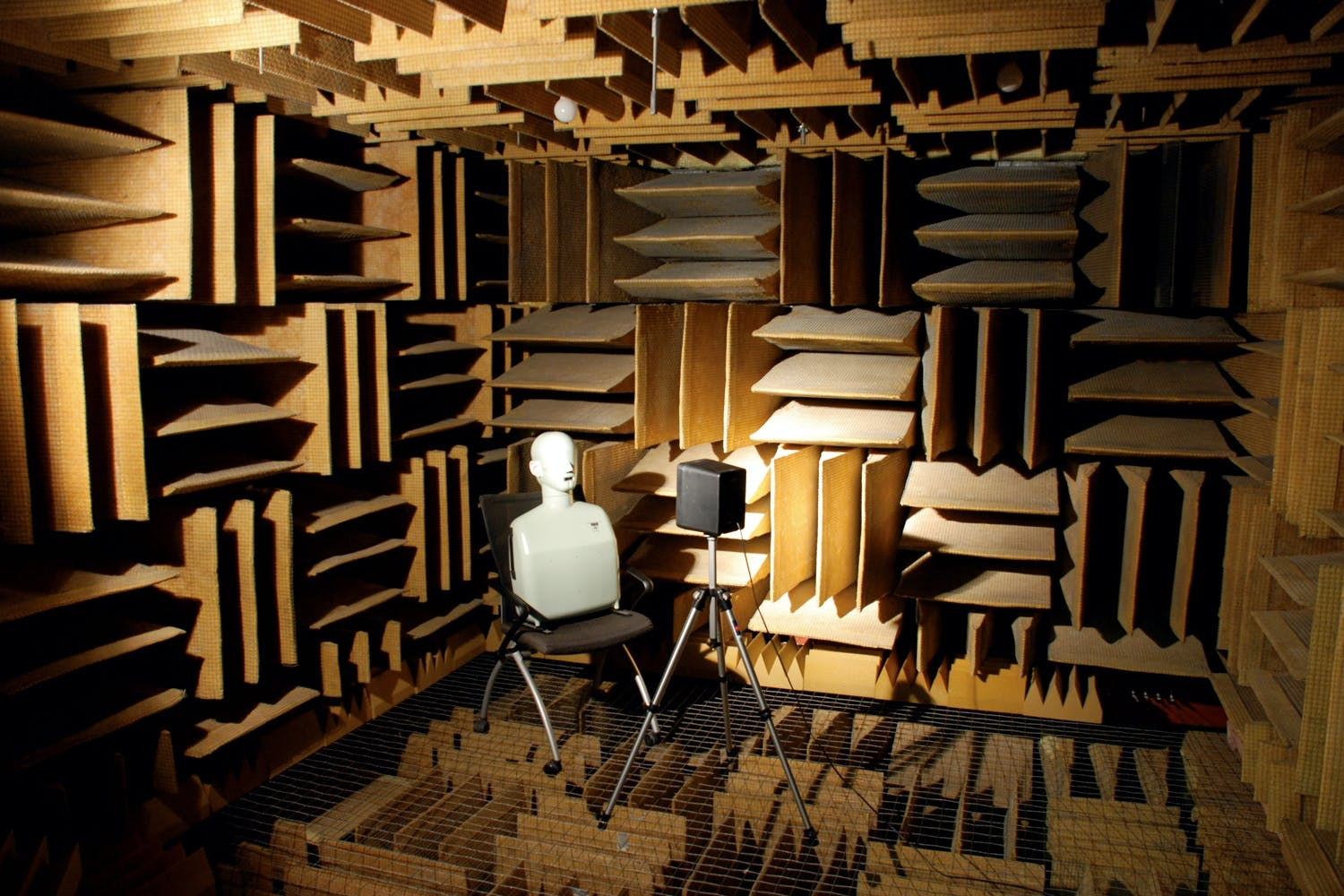 Soundproofed room, Orfield