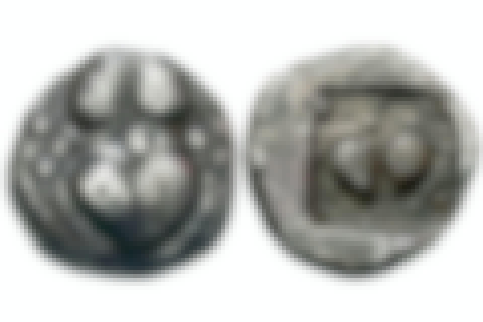 Coins depicting Silphium