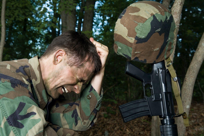 PTSD Soldier