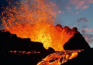Vulcano at La Réunion