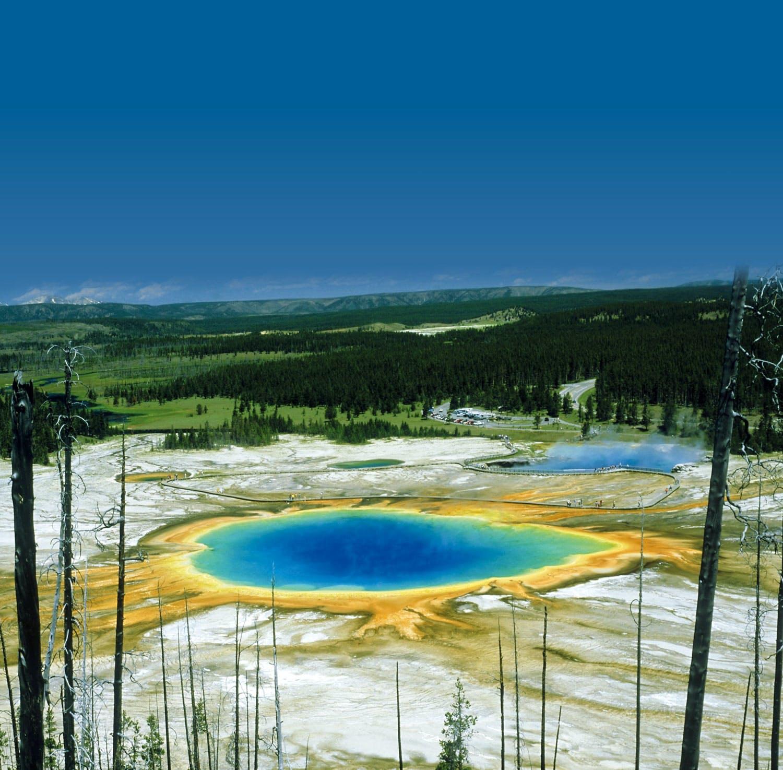 Volcano, Yellowstone National Park