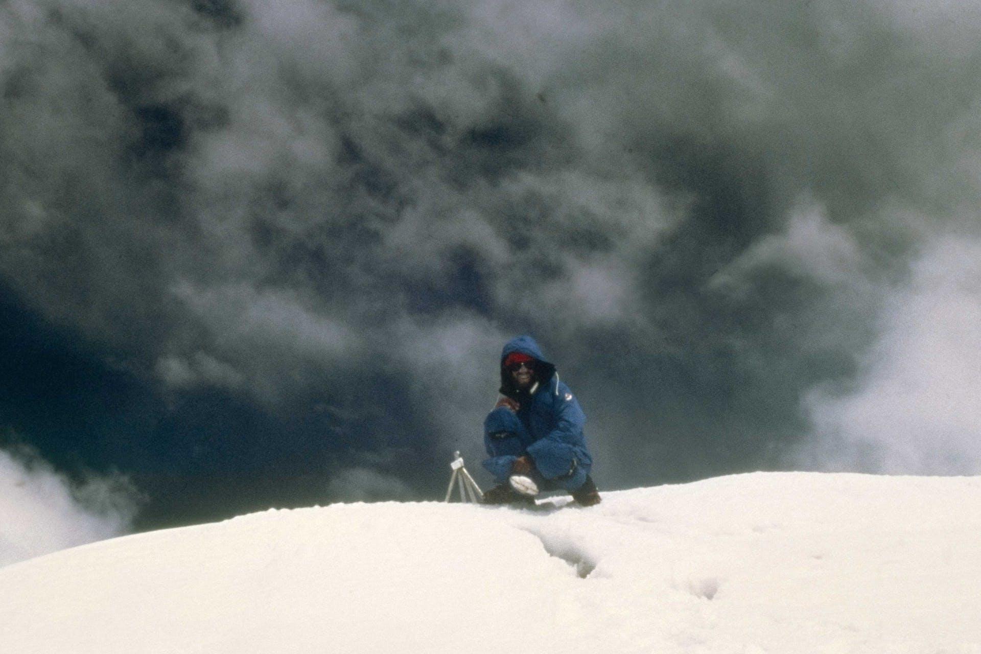 Messner on top