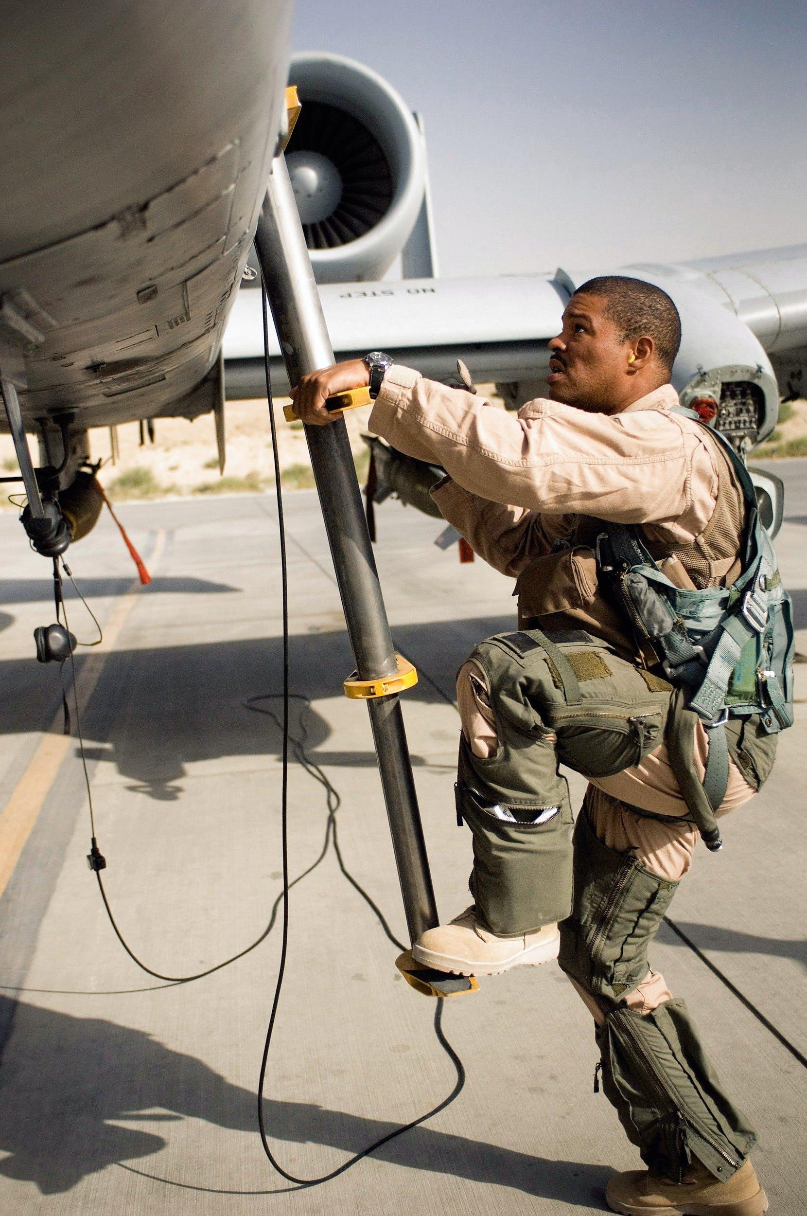 US jet pilot
