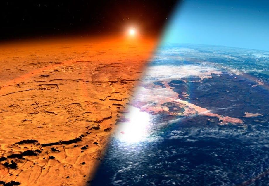 Atmosfæren på Mars