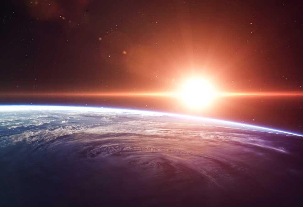 Jorden og Solen
