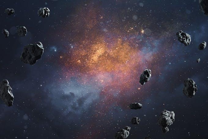 Asteroide og komet