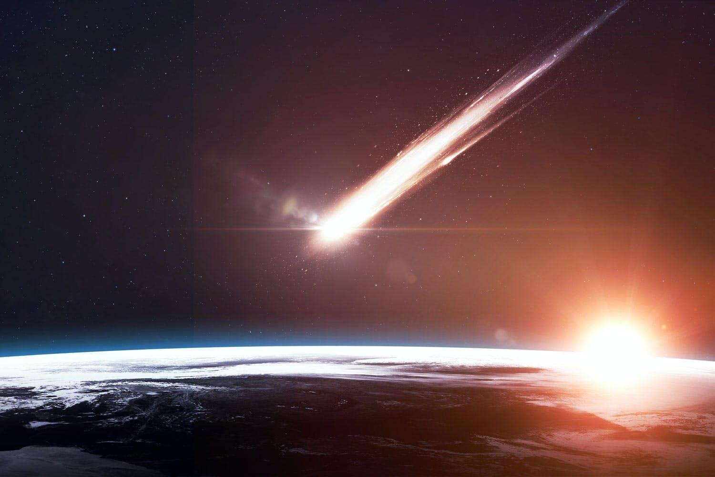 Dinosaurer døde i meteorsværm
