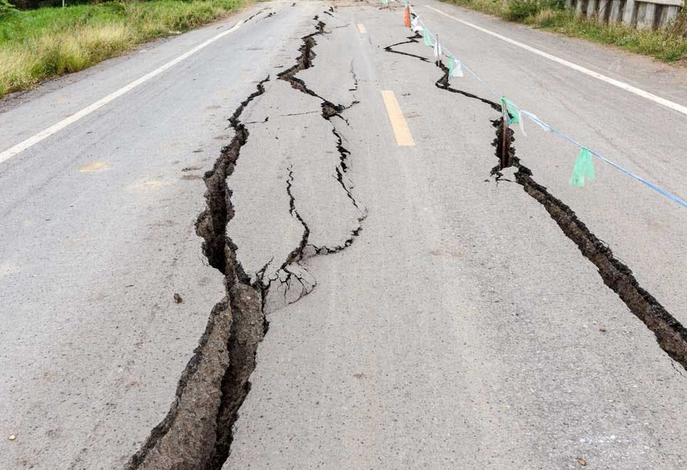 Richterskalaen - jordskælv