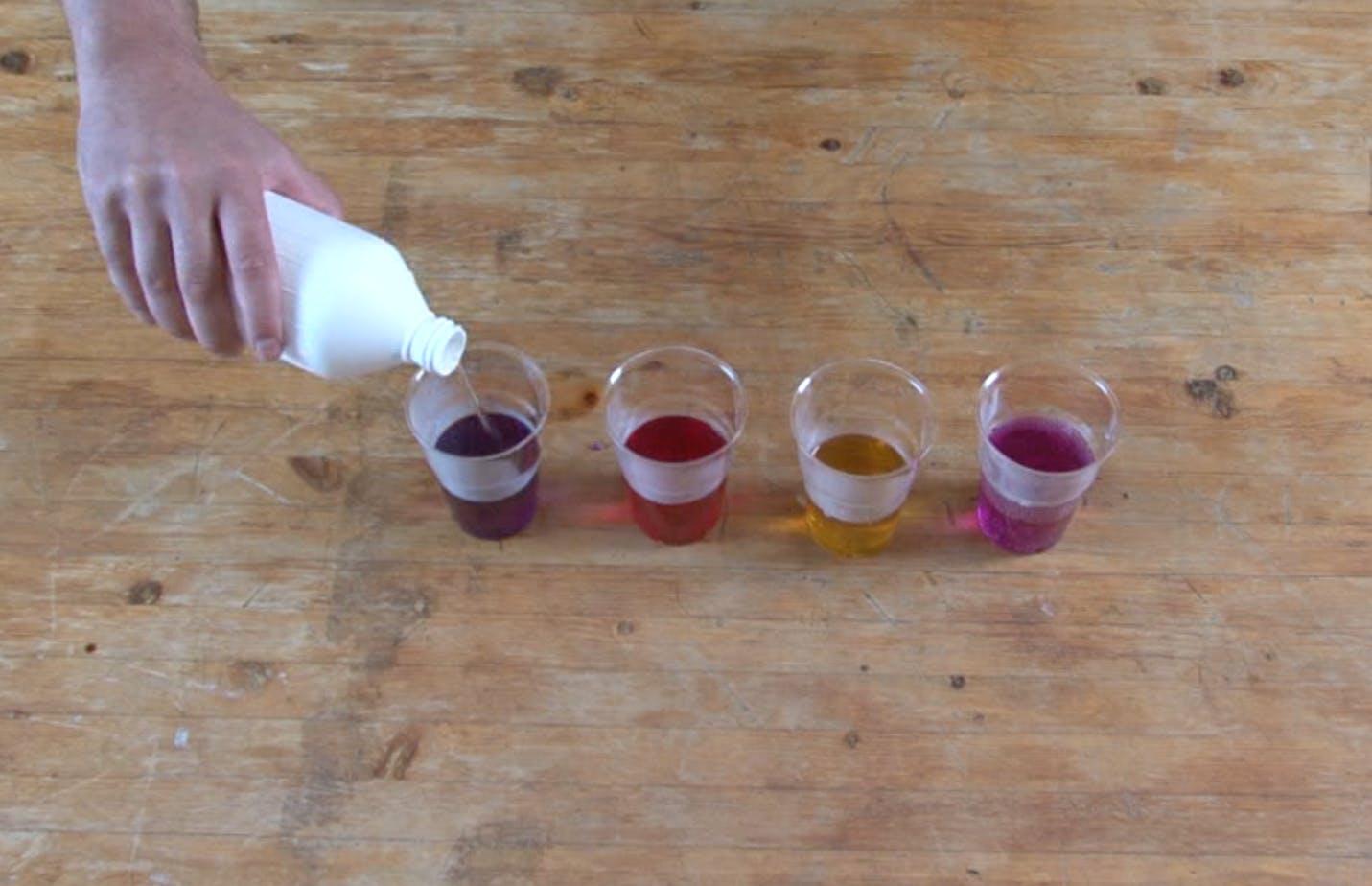 Hemmalaboratoriet: Mät pH-värden med rödkål