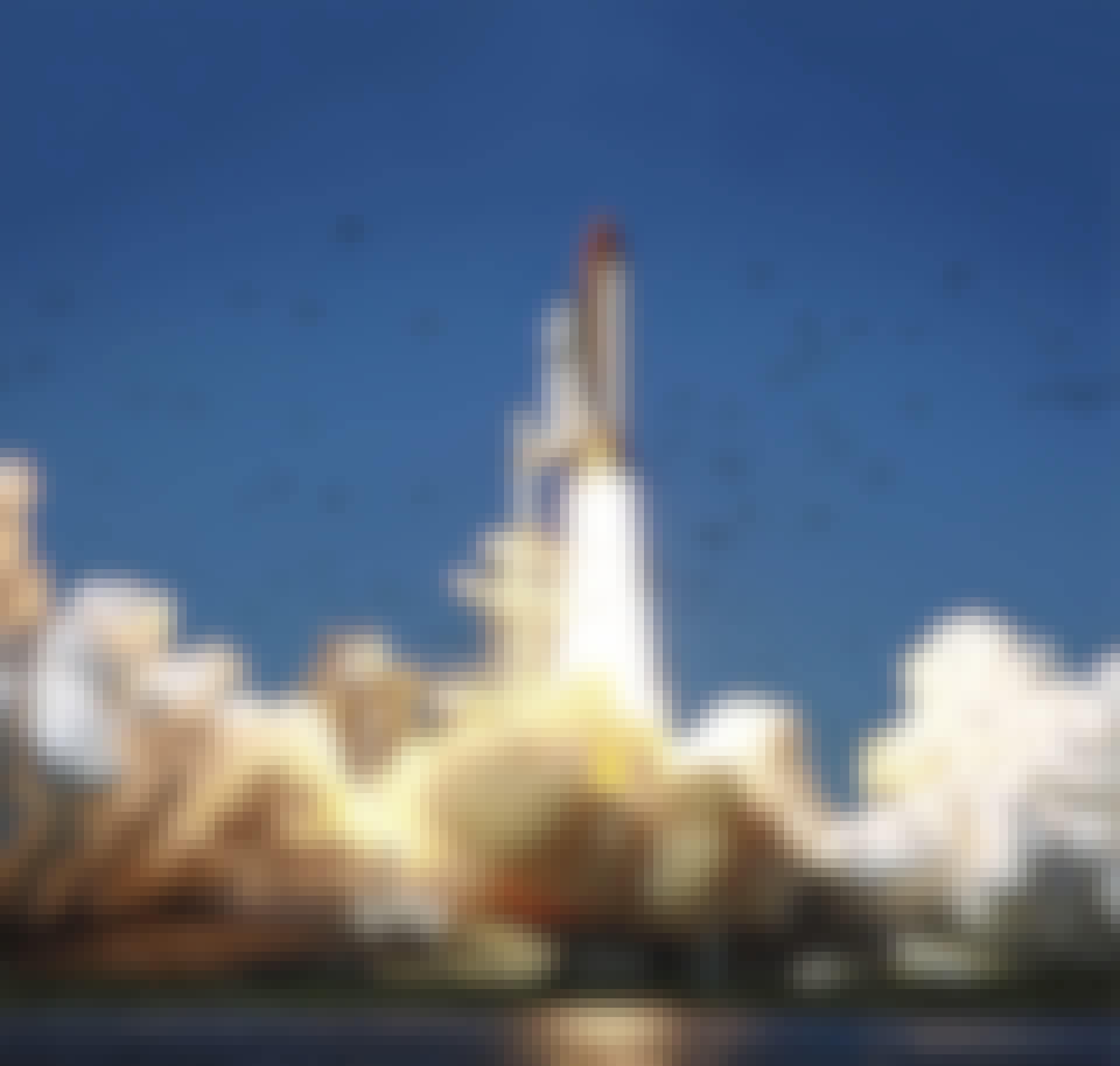 Challenger launch