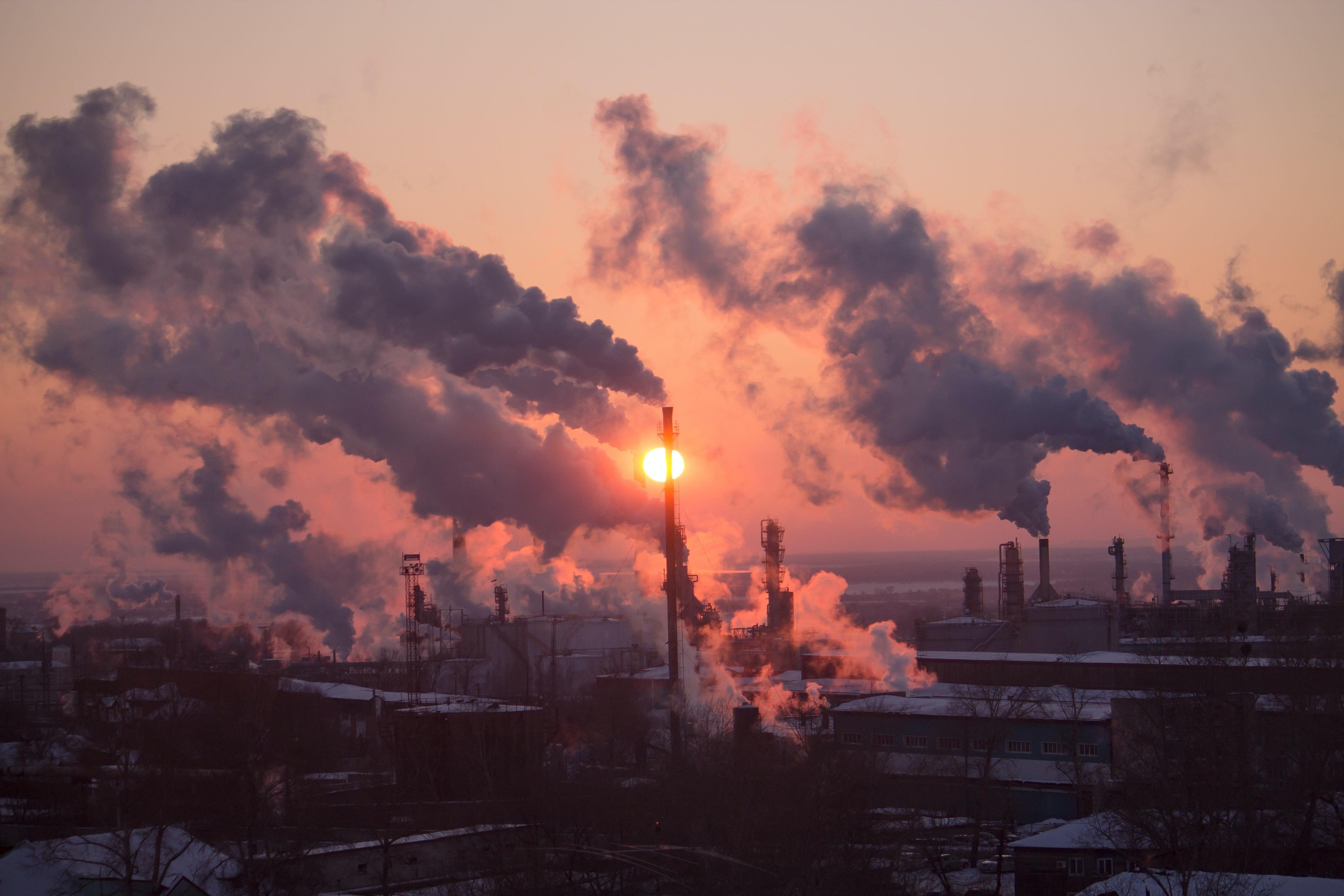 Topp 5 koldioxidutsläpp