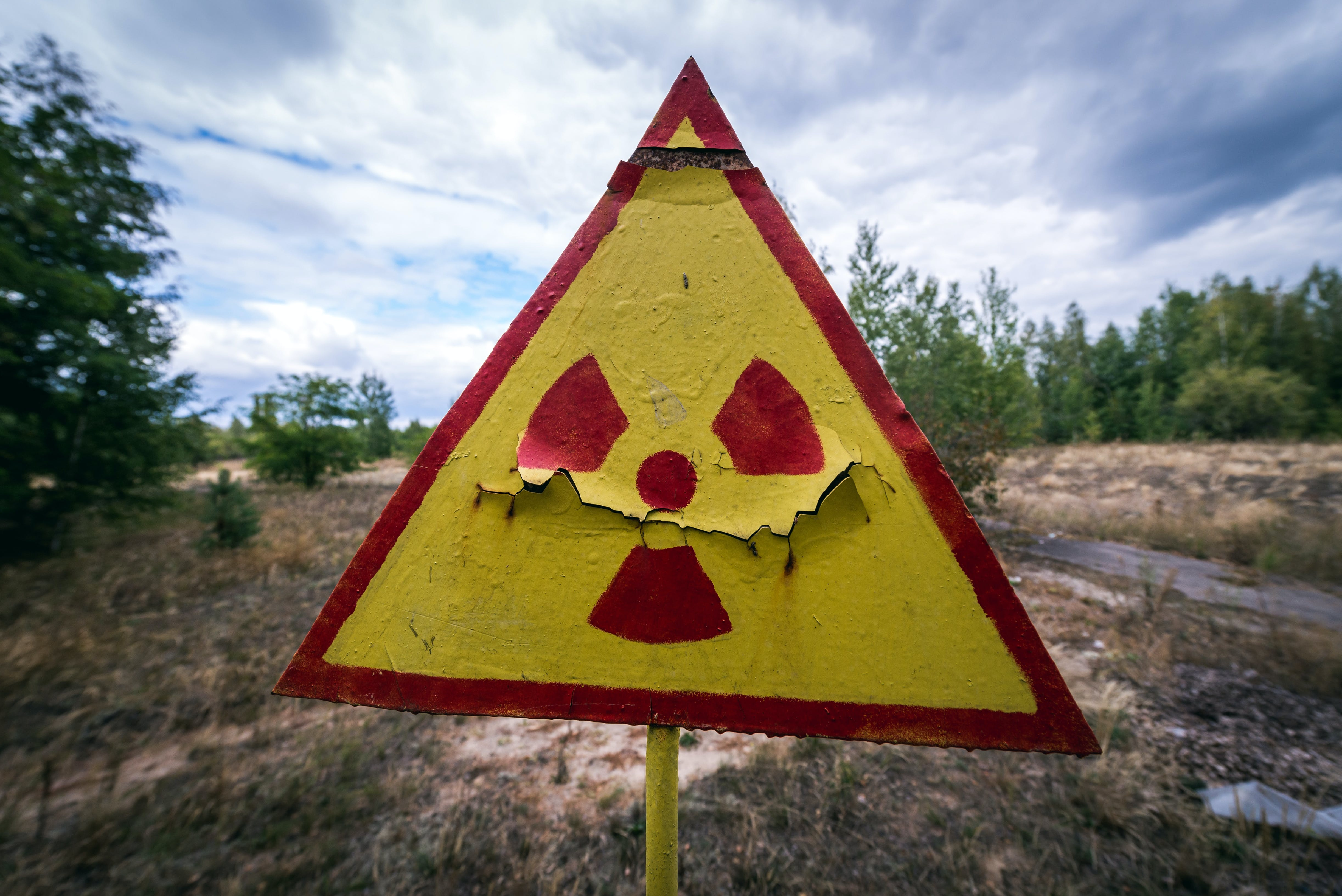 radioaktiv strålning
