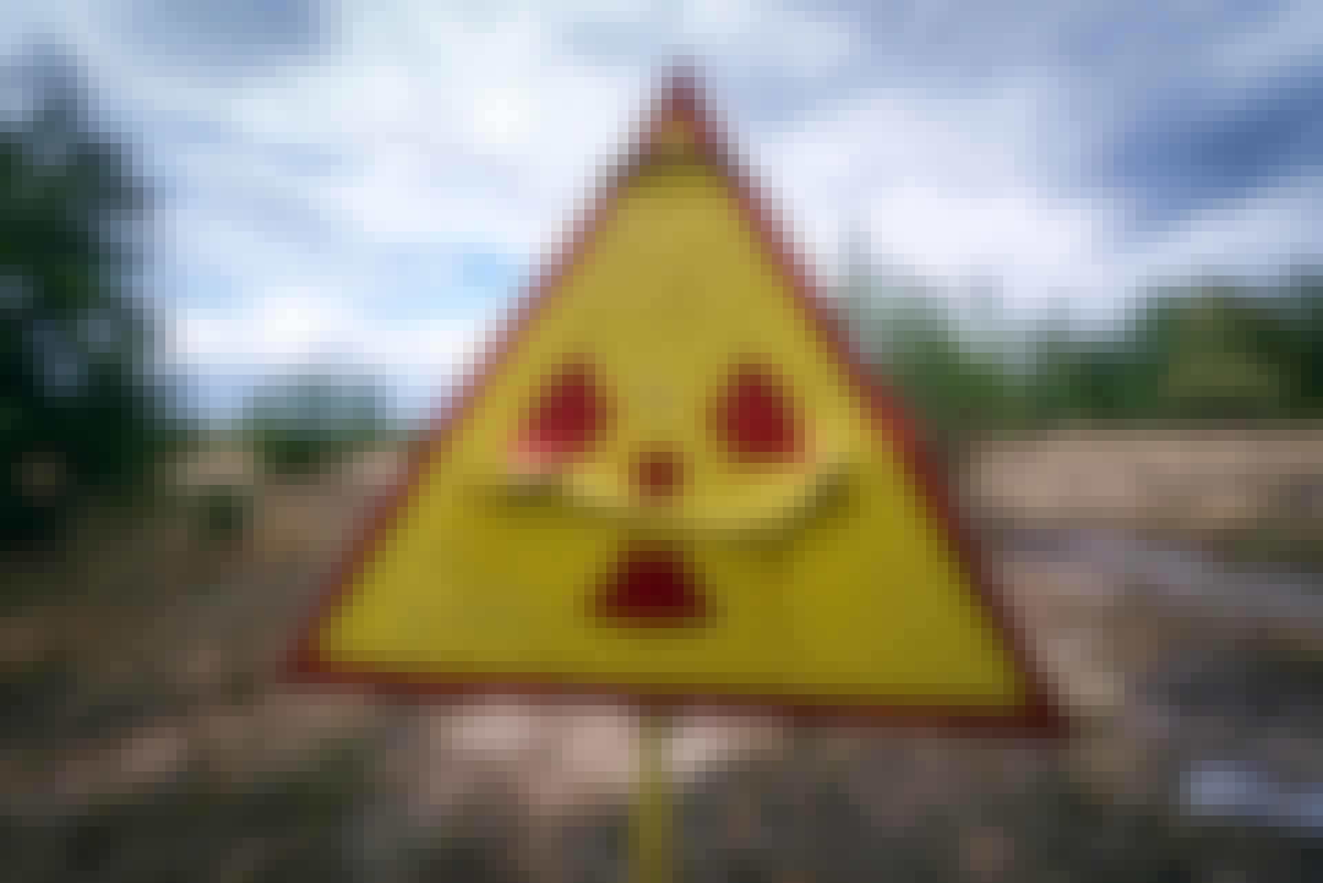 radioaktiv stråling
