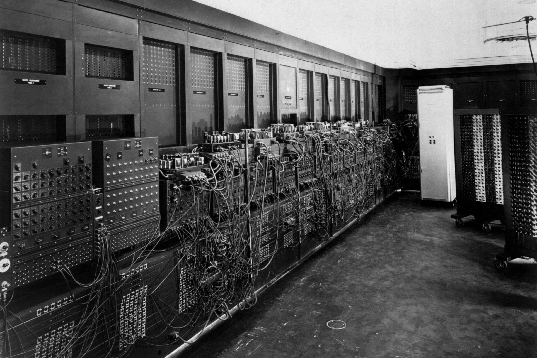 ENIAC - Verdens første fullt elektroniske datamaskin