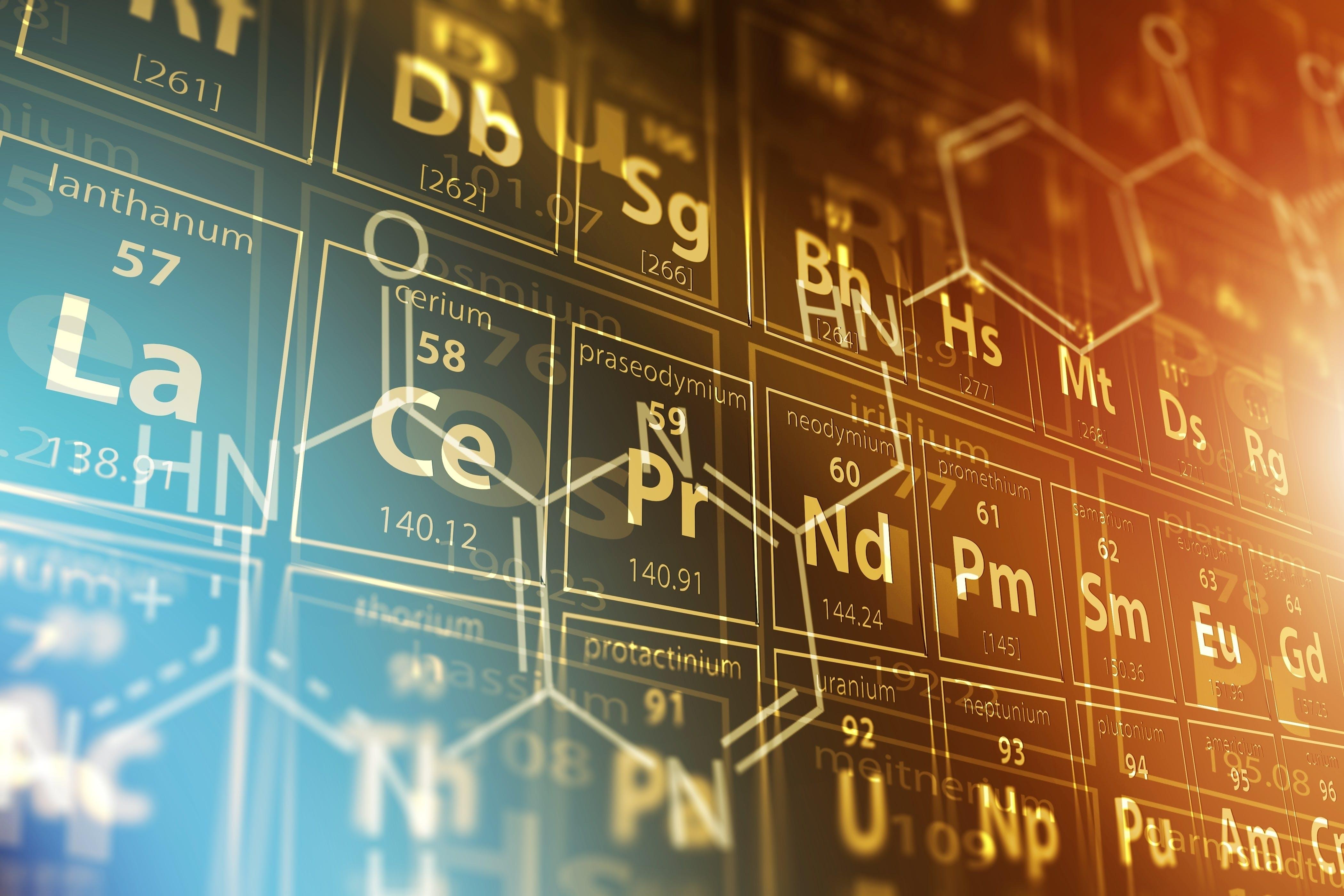 Periodiska systemet – grundämnenas periodiska system
