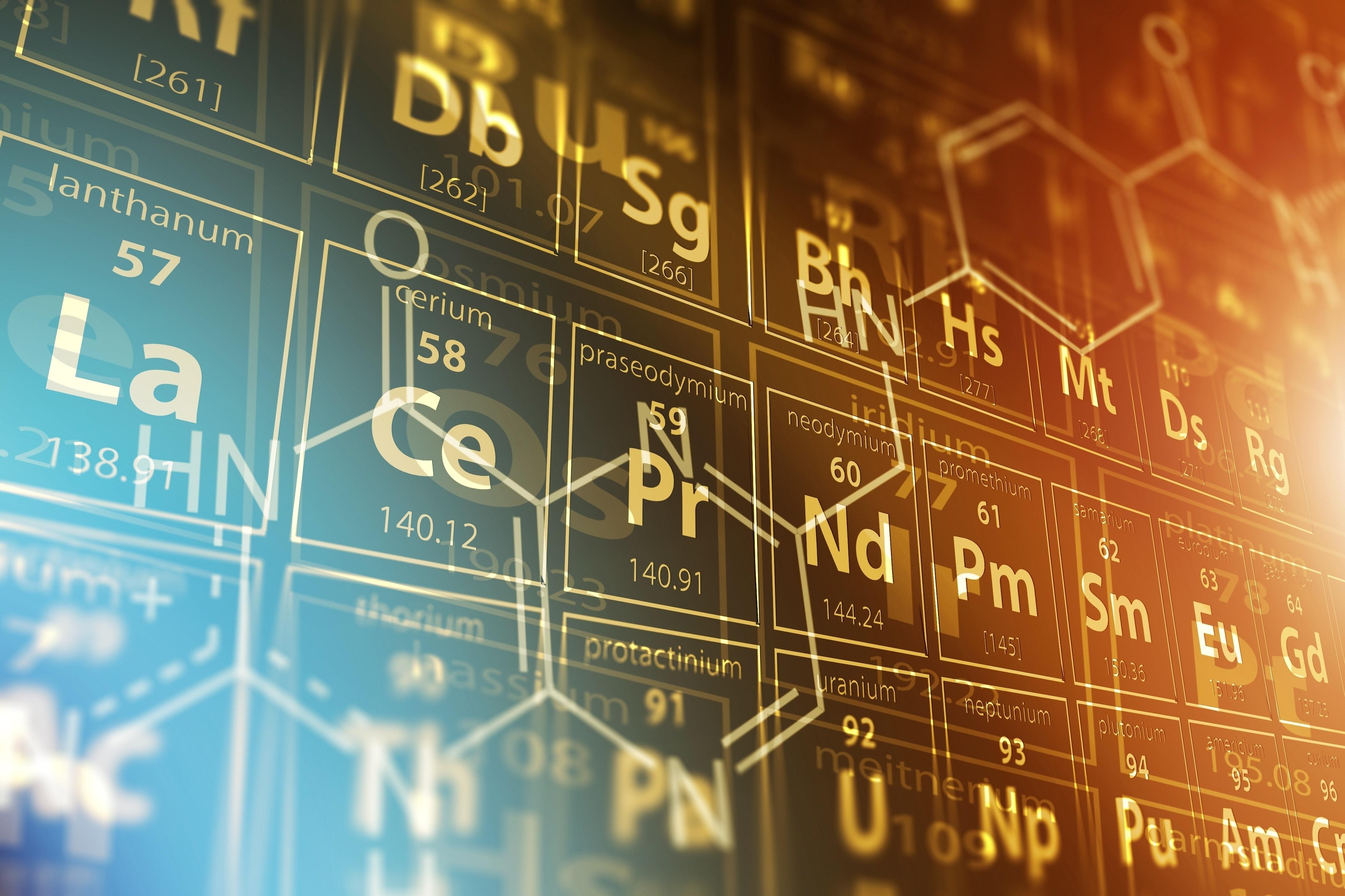 Det periodiske system - grunnstoffenes periodiske system