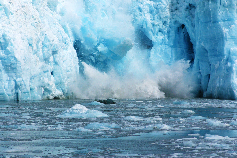 Klimaatveranderingen - het ijs smelt