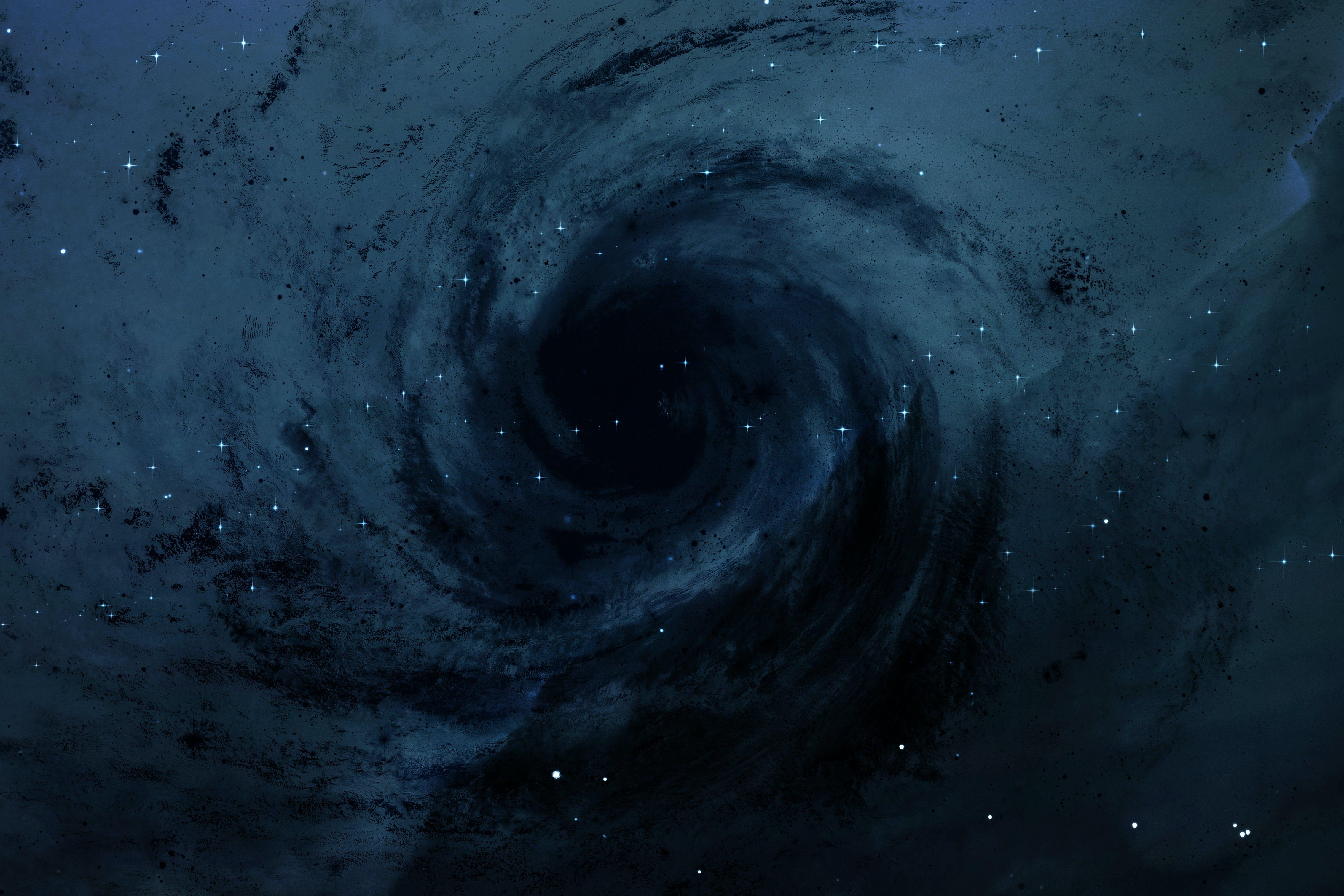 Hvordan oppstår svarte hull?