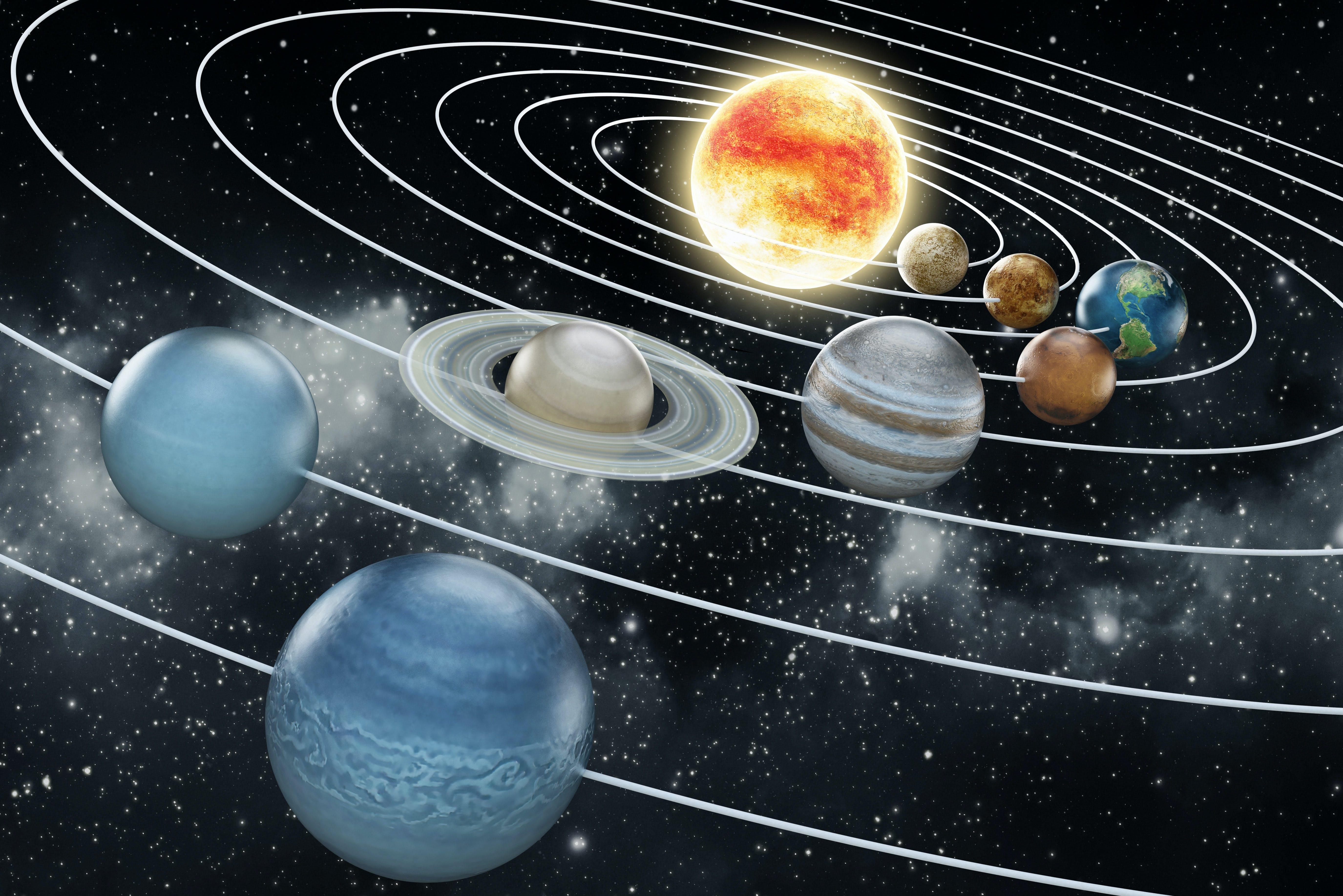 Weetjes over het zonnestelsel