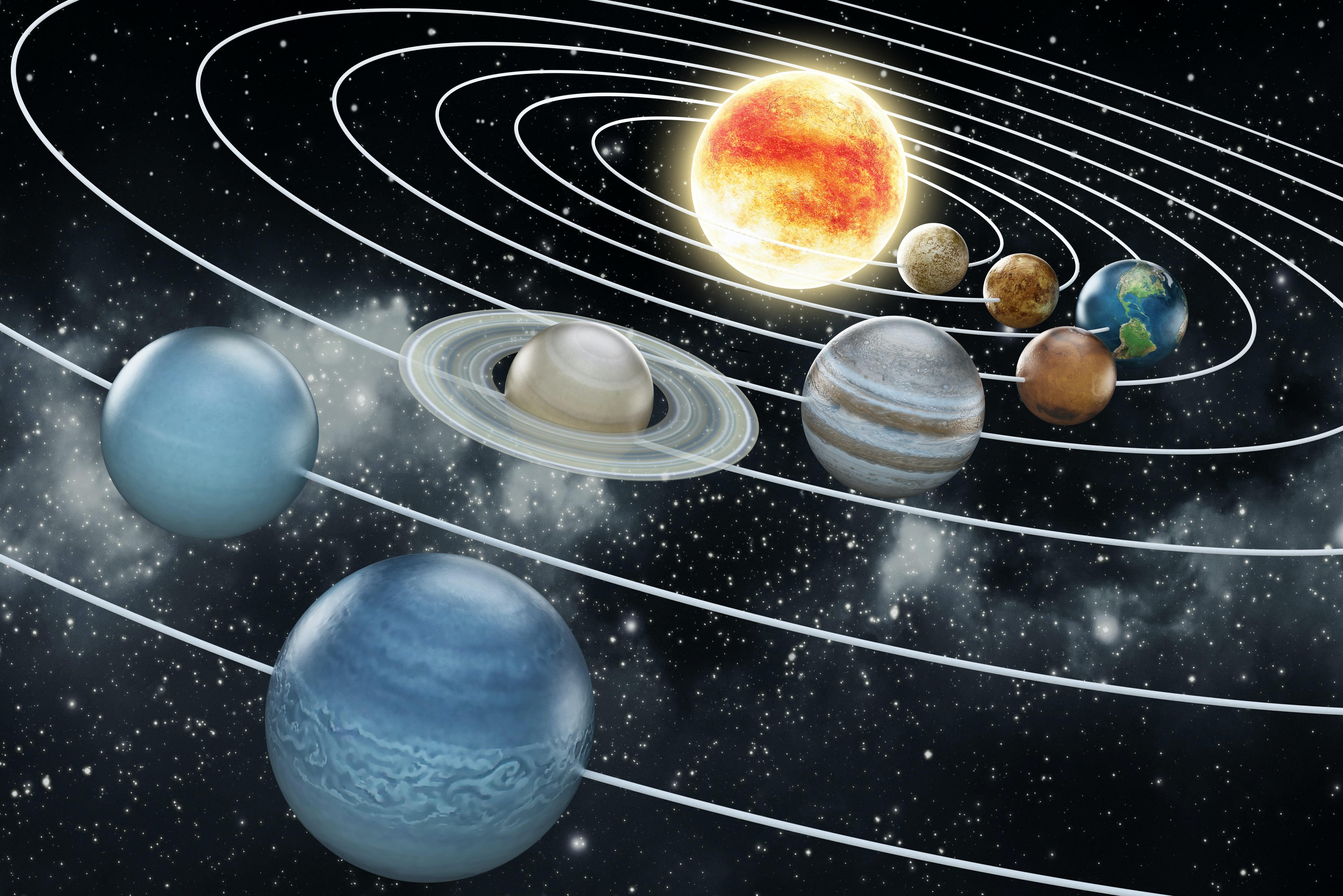 Fakta om Solsystemet