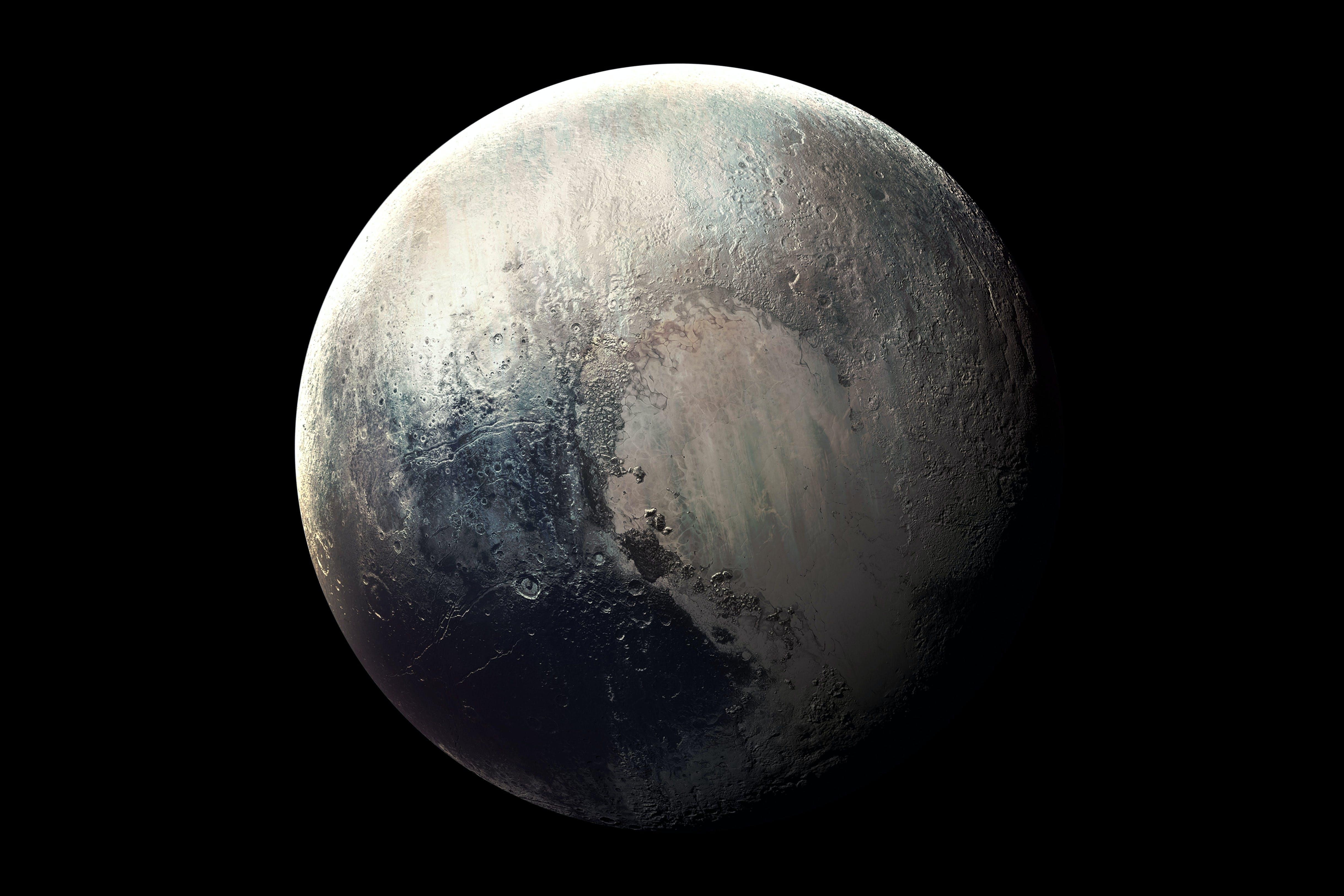 De planeet Pluto