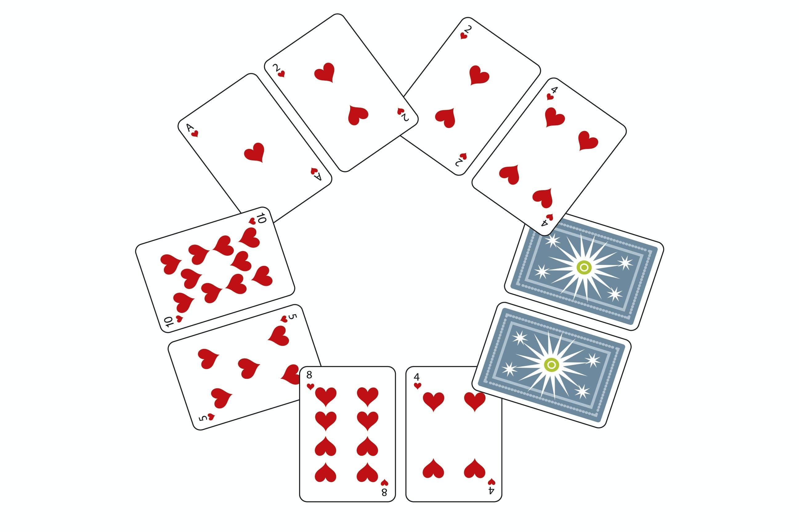 Talforståelse tal intelligens IQ spillekort