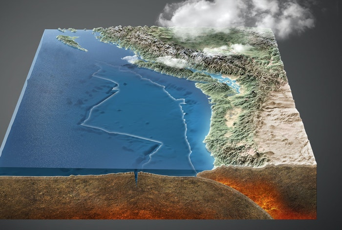 Aardbevingszone Cascadia