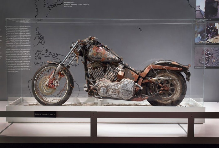 Verroeste Harley-Davidson-motor