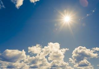 Solen giver d-vitamin