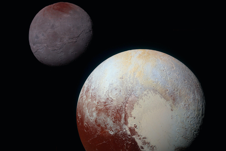Pluto, Kharon
