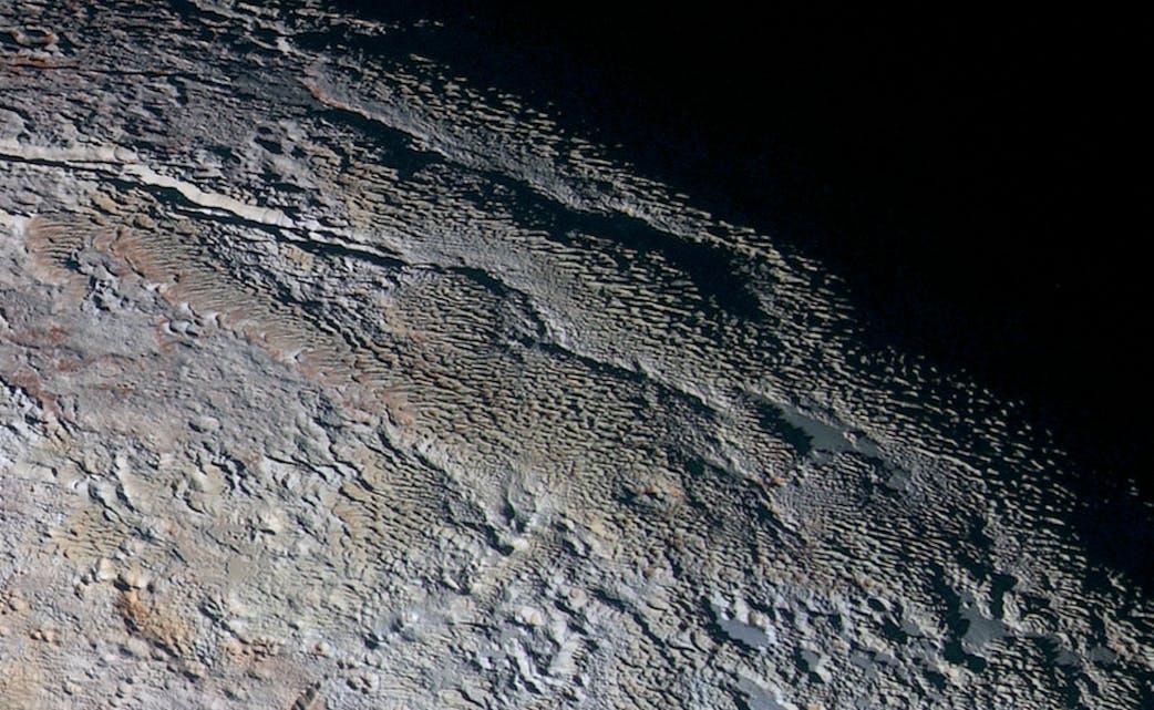Pluto, Tartarus Dorsa
