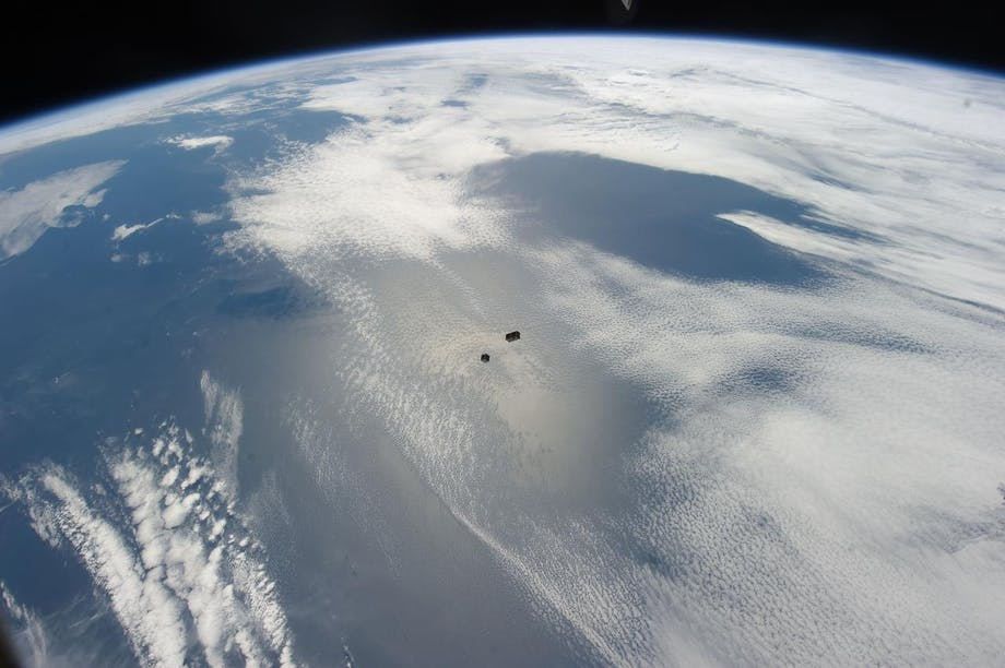 Satellitter i kredsløb