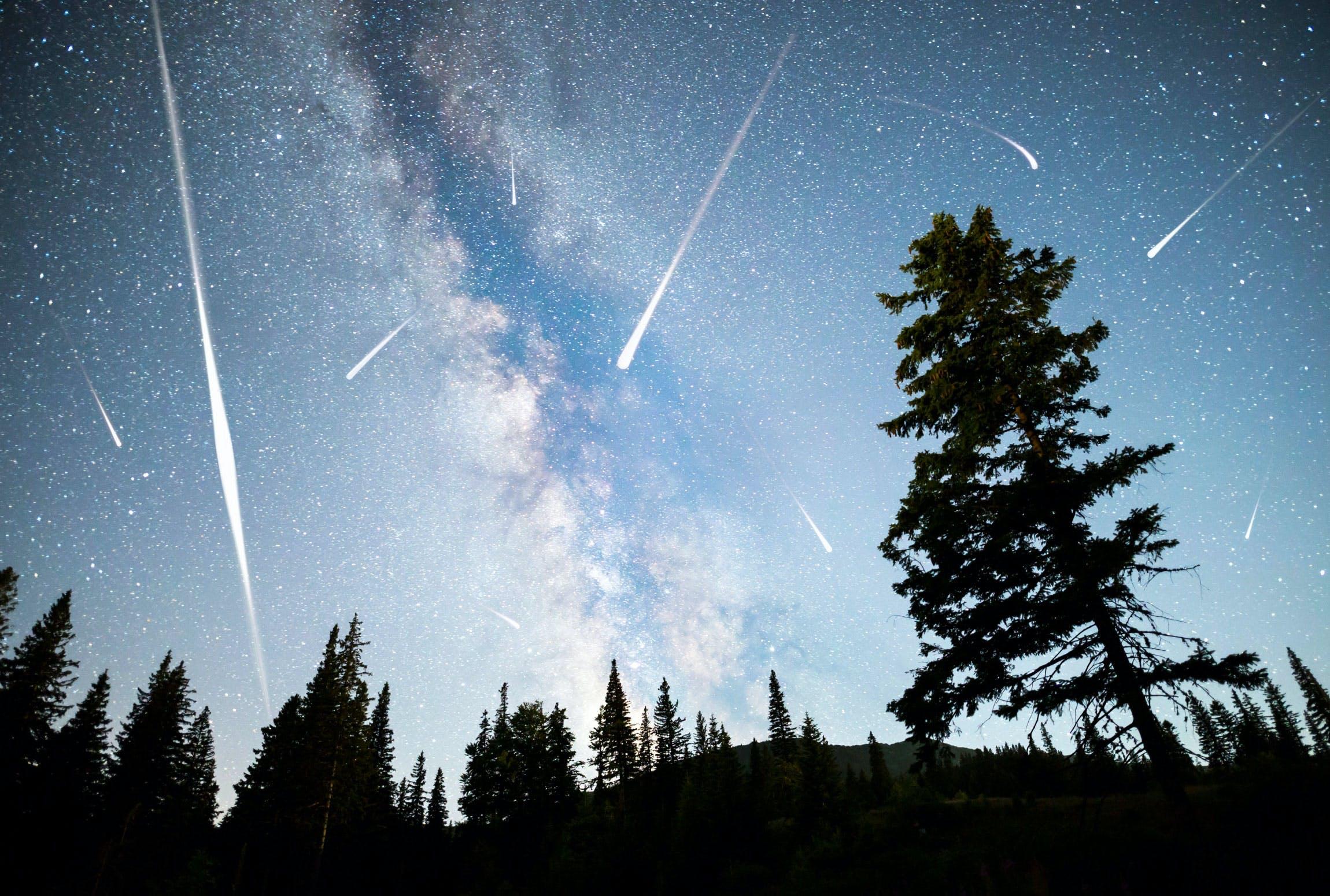 Meteor regn - Meteor shower