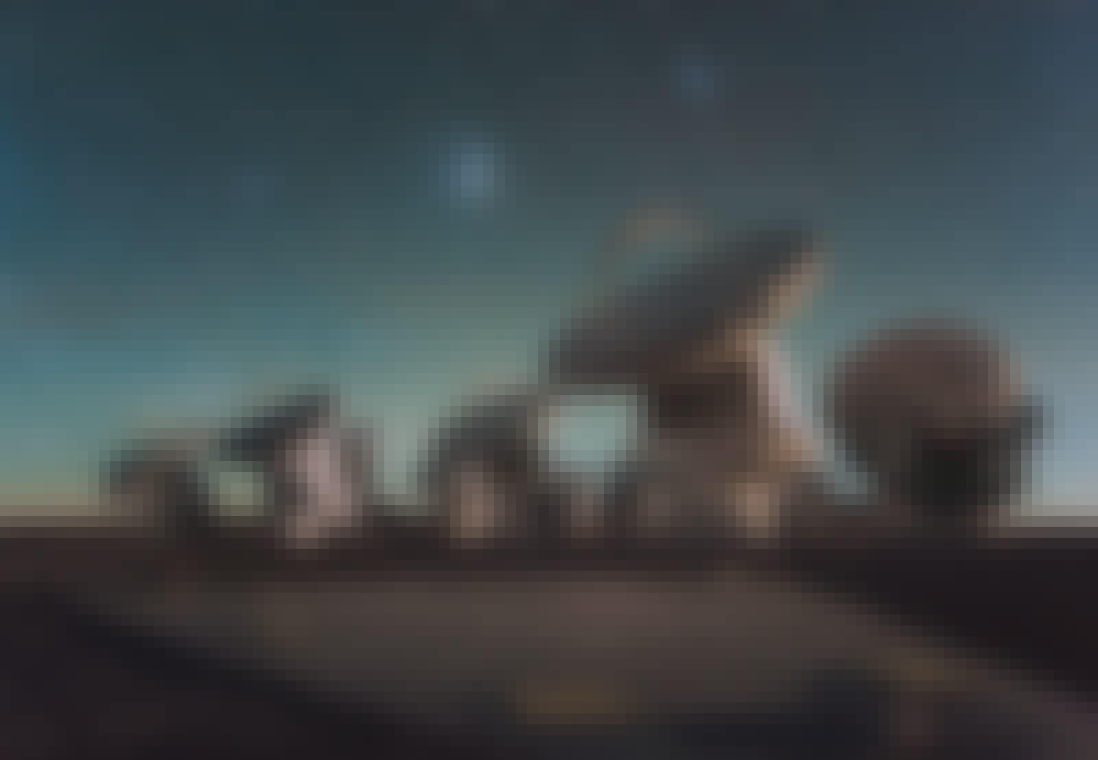 ALMA-teleskopet Chile